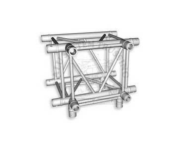 Traverse 4 Punkt T400-4 4-Wege T-Stück C40, Alu System Trussing