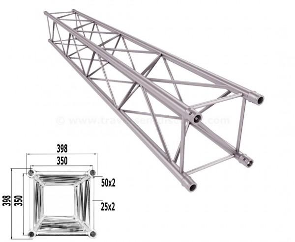 Traverse 4 Punkt Bühnen Truss T400-4 300cm, Alu System Trussing AST