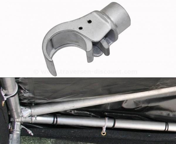 Klauenaufnahme Claw Clamp für Alurohr 50mm