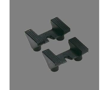 WDG Plattenhalter 4er-Set, schwarz