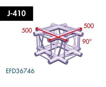 Vierpunkt Traverse X4K-30, 4-Weg Kreuz, Winkel 90°
