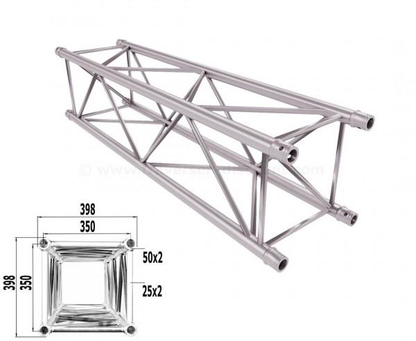 Traverse 4 Punkt Bühnen Truss T400-4 150cm, Alu System Trussing AST