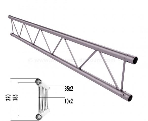Truss T220-2 mit 200cm, 2 Punkt Alu System Deco Trussing AST