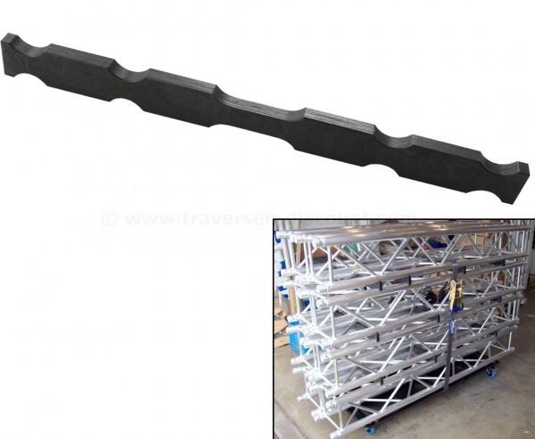 Stapelholz schwarz für alle Truss Dolly T290-3 und 4Punkt