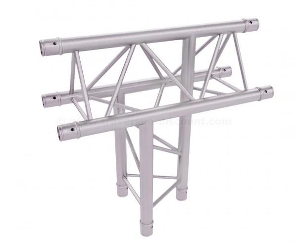 Alu System Truss 3 Punkt Deco Traverse T220-3 C39 3-Wege T-Stück horizontal mit Spitze oben