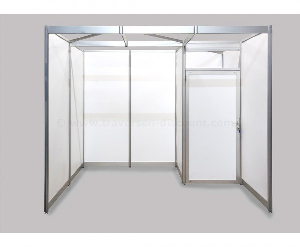 Messesysteme Alusett U-Form mit ca.3x2x2,5m mit Innenraum