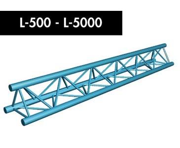 Dreipunkt Traverse X3K-30, Gerade 500cm
