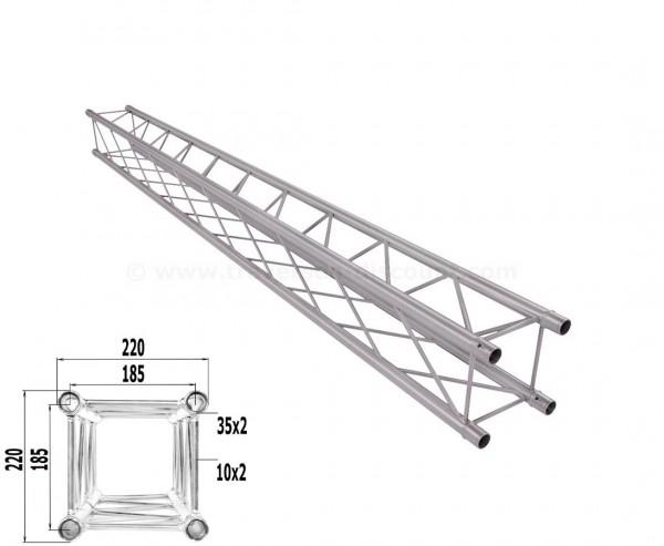 Traverse T220-4 mit 250cm, Alu System Decotruss AST