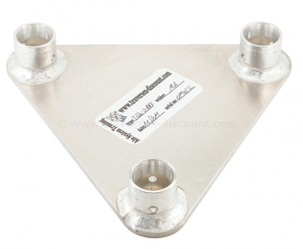 Decotruss Traverse T220-3 Bodenplatte female, 3 Punkt Alu System Trussing