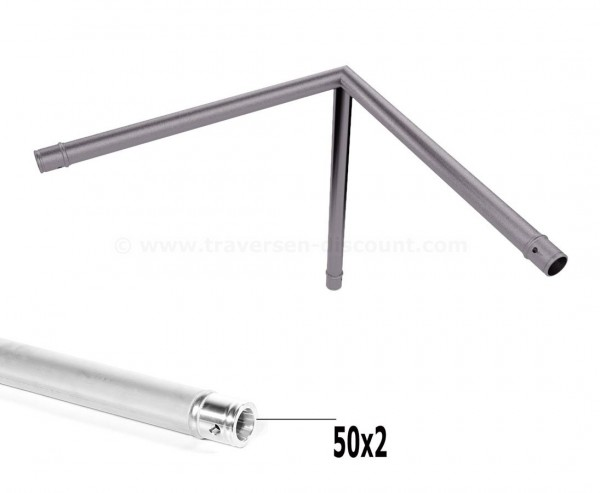 Mini Trussing T290-1 3-Wege Eck 90° C30, Alu System Trussing