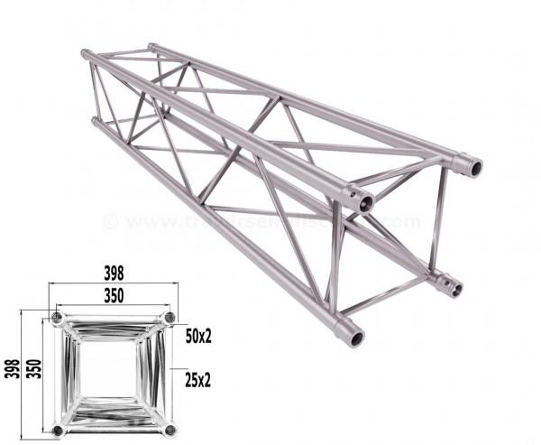 Traverse 4 Punkt Bühnen Truss T400-4 200cm, Alu System Trussing AST