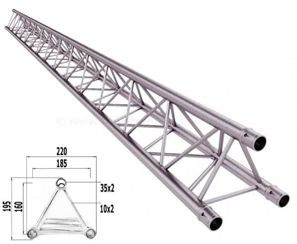 Traversen Decotruss T220-3 mit 350cm, 3 Punkt Alu System Trussing