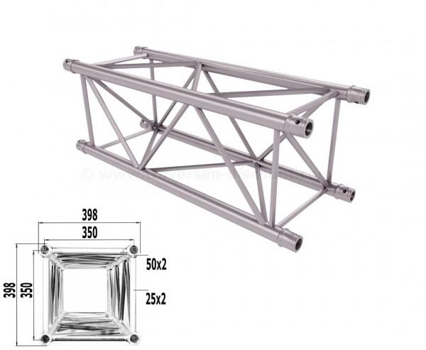 Traverse 4 Punkt Bühnen Truss T400-4 100cm, Alu System Trussing AST