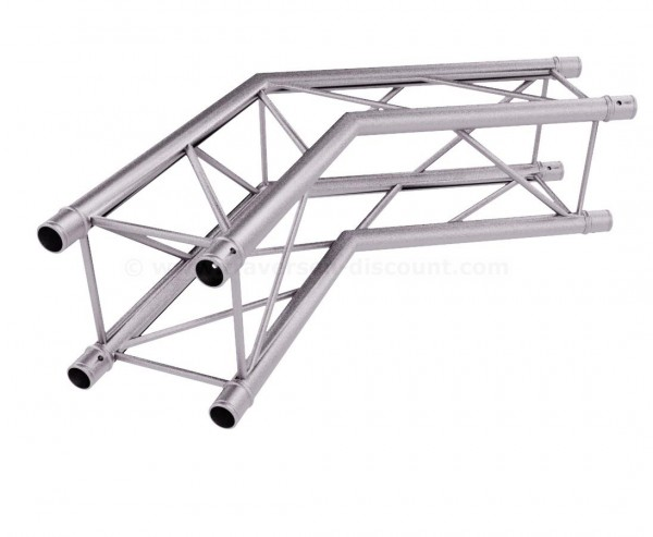 Traversen T220-4 2-Wege Eck 120° C22, Alu System Decotruss AST