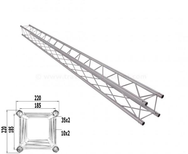 Traverse T220-4 mit 350cm, Alu System Decotruss AST