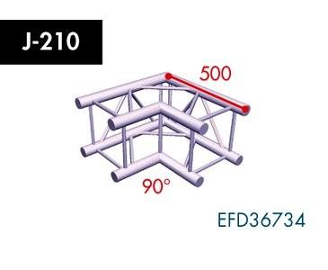 Vierpunkt Traverse X4K-30, 2-Weg Ecke, Winkel 90°