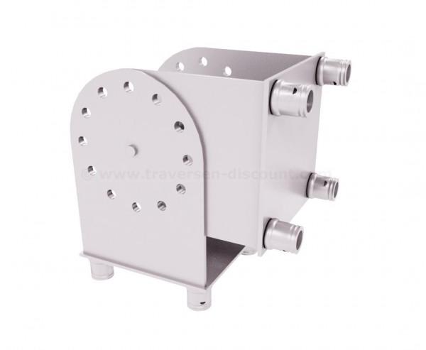 Messestand Traversen T290-4 180° Gelenk Eck variabel 2-Wege, Alu System Trussing AST
