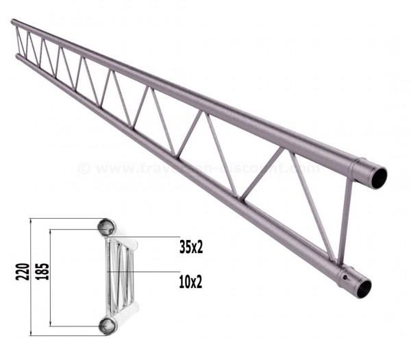 Truss T220-2 mit 250cm, 2 Punkt Alu System Deco Trussing AST