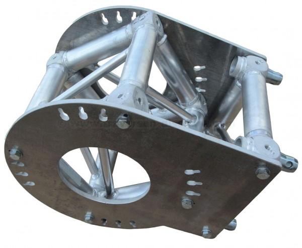 Messestand Traversen T290-4 Gelenk Montage Set für Multi Eck, Alu System Trussing AST