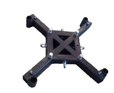 Basement Bodenplatte aus Stahl, leichte Ausführung mit Ausleger