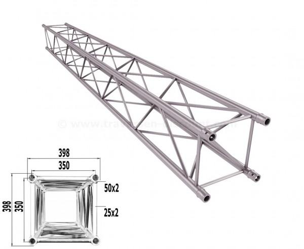 Traverse 4 Punkt Bühnen Truss T400-4 400cm, Alu System Trussing AST