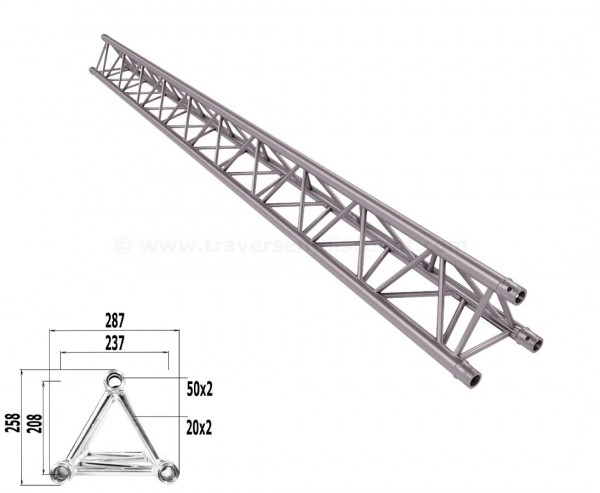 Alu System Trussing 3 Punkt Traverse T290-3 mit 350cm