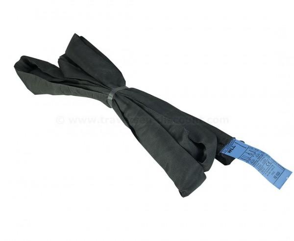 Rundschlinge, schwarz, Nutzlänge 200cm, Last 2t, Umfanglänge 400cm