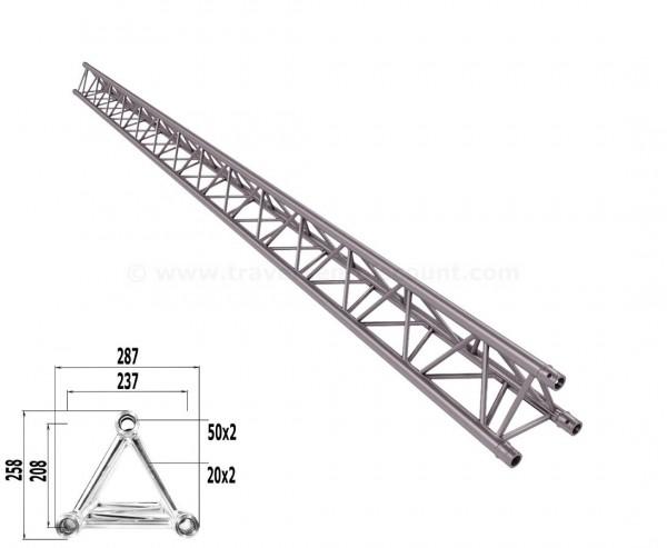 Alu System Trussing 3 Punkt Traverse T290-3 mit 500cm