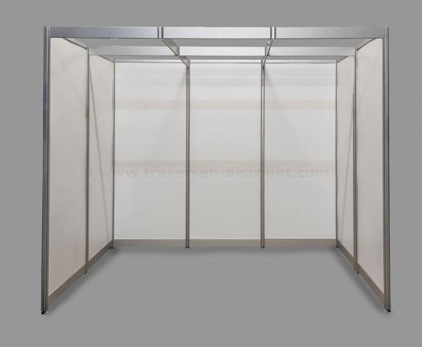 Messebausystem Alusett U-Form mit ca.3x2x2,5m