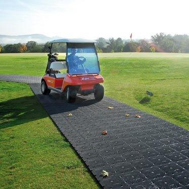"""Bodenschutzmatte """"easy"""" schwarz, aus PE Material mit 100x100x2,2cm"""