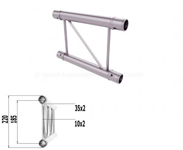Truss T220-2 mit 25cm, 2 Punkt Alu System Deco Trussing AST