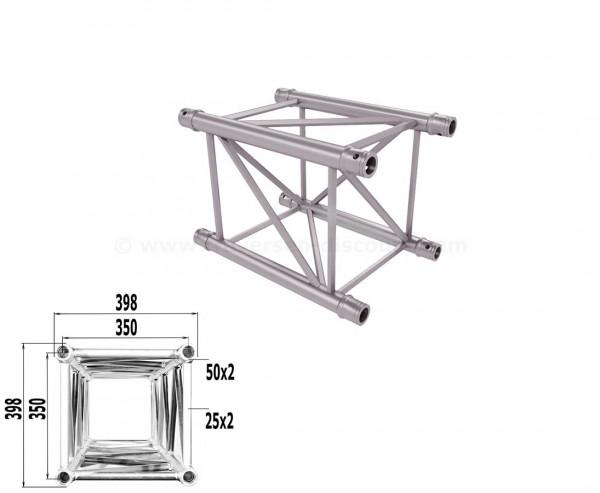 Traverse 4 Punkt Bühnen Truss T400-4 50cm, Alu System Trussing AST