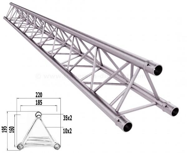 Traversen Decotruss T220-3 mit 250cm, 3 Punkt Alu System Trussing