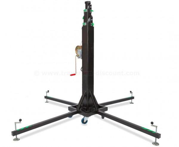 Kurbel Lift für Traversen Konstruktionen max. Höhe 650cm und max. Gewicht 300kg, HTL 300