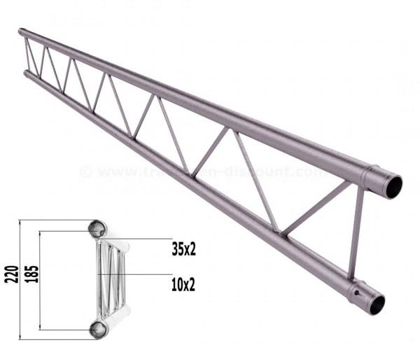 Truss T220-2 mit 150cm, 2 Punkt Alu System Deco Trussing AST